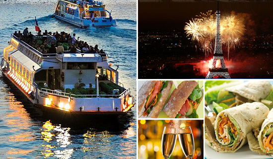 Picnic cruise for Bastille Day