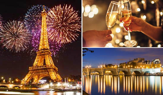 Fireworks' Bastille Day cruise with Champagne