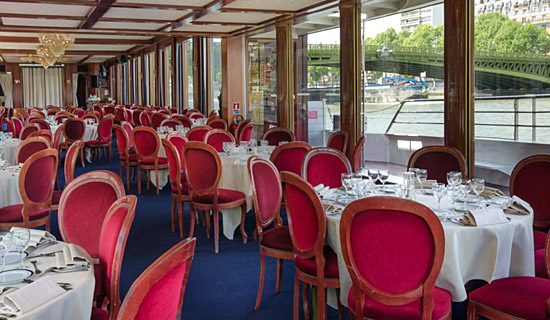 Bastille Day dinner cruise on the River Palace