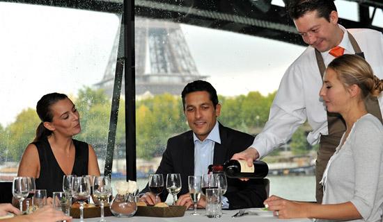 Déjeuner croisiere à Paris au Meilleur prix