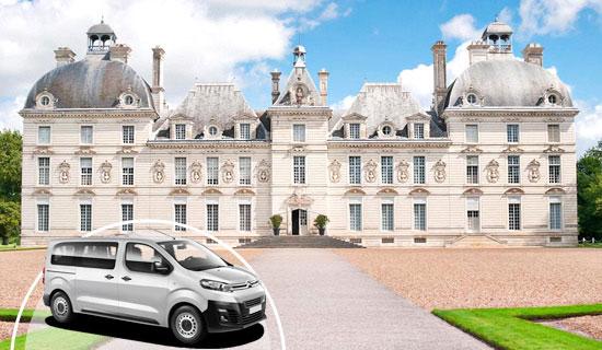 Minibus tour from Paris