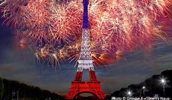 Dates spéciales et Evènements Paris : Reveillons, St Valentin, 14 Juillet