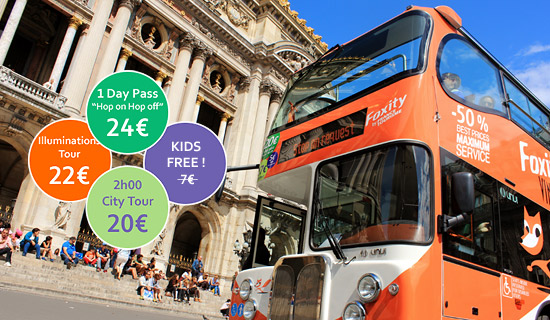 Paris City Tour by day - FREE FOR KIDS  -12 YEARS OLD