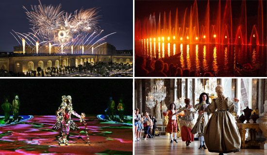 Shows and events at Versailles
