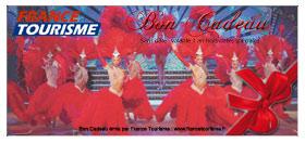 bon cadeau soirée Moulin Rouge