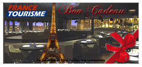 Special Gift : Eiffel Tower dinner