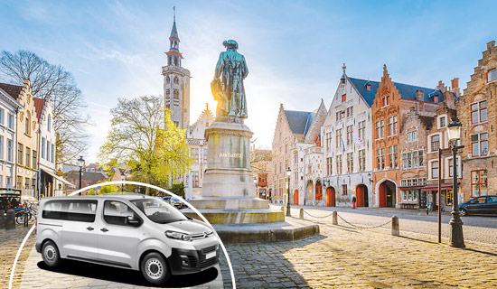 Bruges sightseeing Tour by minibus
