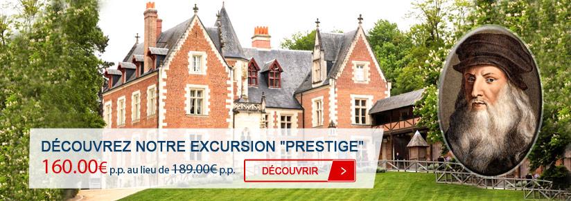 Découvrez notre Excursion Prestige aux Châteaux de la Loire en petit groupe