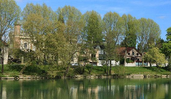 Journée d'escapade sur la Marne le 20 juin