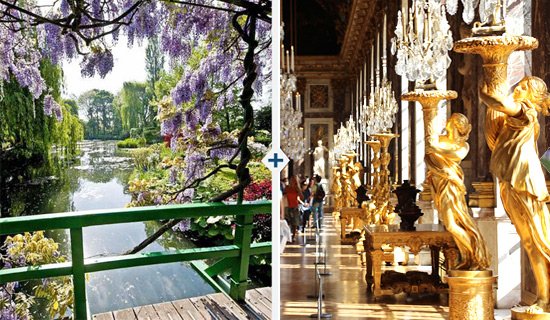Excursion  Versailles et Giverny