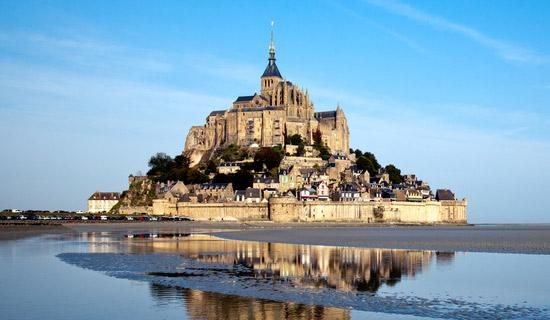The Mont Saint Michel from Paris