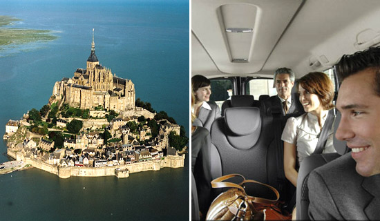 The Mont Saint Michel tour by minibus