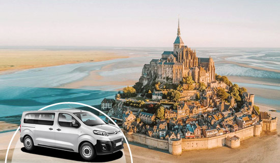 Excursion Prestige<br>au Mont Saint Michel