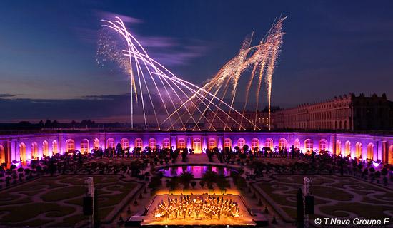 Concert Haendel + Spectacle pyrotechnique  à Versailles