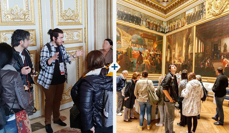 Guided visit of the Versailles Palace - Transport not included