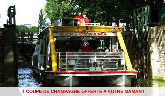 """Croisiere du """"Vieux Paris"""" Special Fete des Meres"""