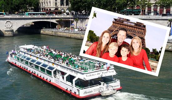 Croisière sur la Seine - Offre Spéciale Fête des Mères