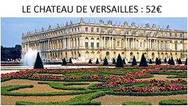 Visite du Chateau de Versailles depuis Paris