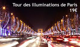 Tour des illuminations de Noël