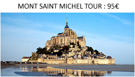 Mont Saint Michel Tour from Paris