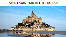 Mont Saint Michel Tour from Paris