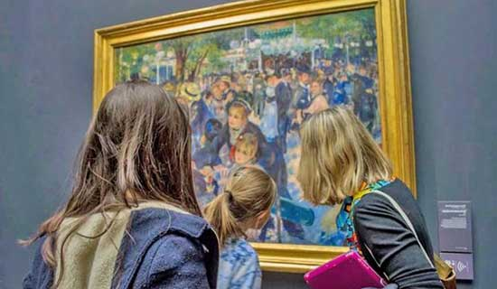 Private visit of the Orsay museum - Special for Children and Families
