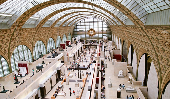 Priority access tickets to the Orsay Museum