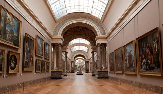 Private visit of  The Louvre Musem