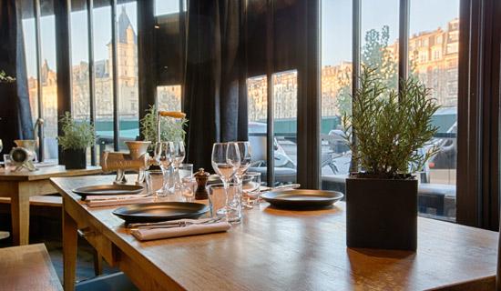 Déjeuner au restaurant Le Frou Frou + Croisiere promenade