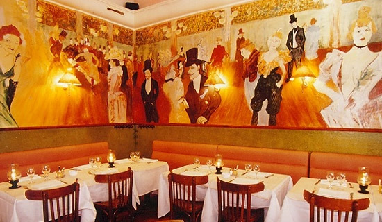 "Lunch or dinner at the restaurant  ""Bistro de Montmartre"""