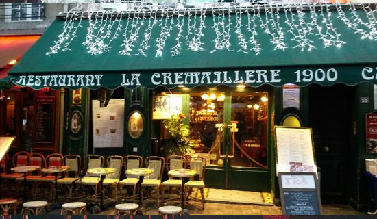 New eve in Montmartre Place du Tertre