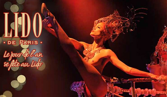 Lido de Paris : special New Year's Eve