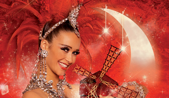 Diner Spectacle de Reveillon au Moulin Rouge