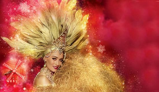 Moulin Rouge: Noche espectaculo especial 31 diciembre