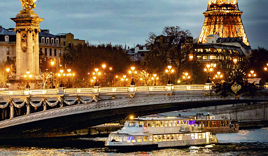 "New Year's Eve cruise on the ""Tosca"" - Dinner with Champagne"