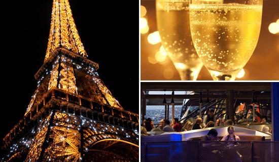 Dîner au 58 Tour Eiffel Spécial Réveillon
