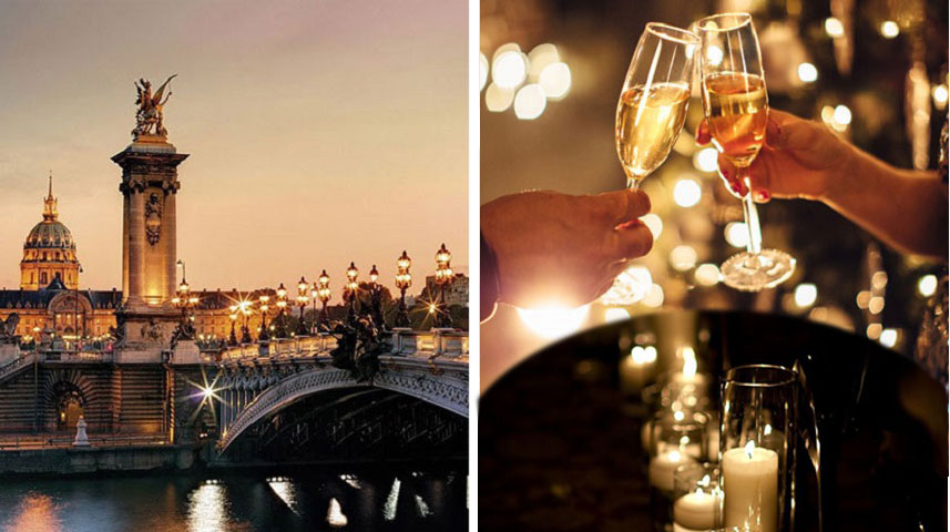 Champagne Candlelight Cruise
