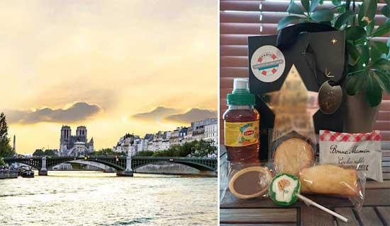 Snack cruise on the Seine