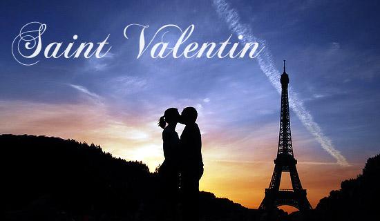 Fétez la Saint Valentin à Paris