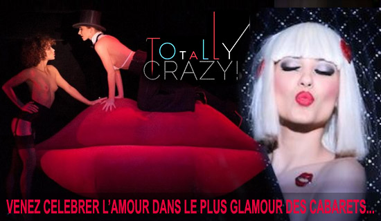 Valentine's Day atthe Crazy Horse Paris