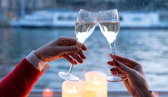 Champagne cruise Valentine's Day Special
