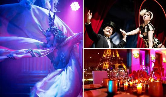 """Diner Croisière Spectacle """"Paris à la Folie"""""""