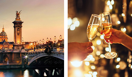 Lover's dinner +  Champagne cruise - Valentine's Day Special