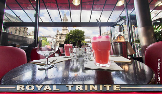 Valentine's Day at the restaurant Royal Trinité