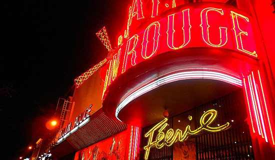 Diner Spectacle de  Saint Valentin au Moulin Rouge
