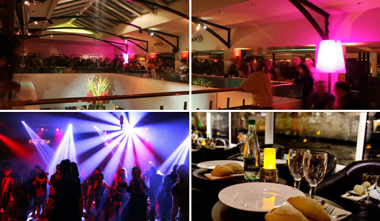 Club and Lounge evenings in Paris
