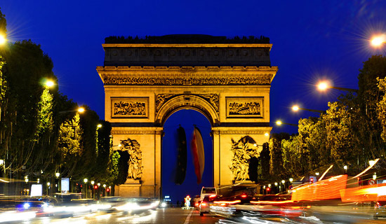 Noches en los Champs Elysées