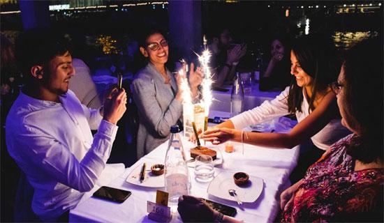 Diner Croisière Festif - Spécial Anniversaire
