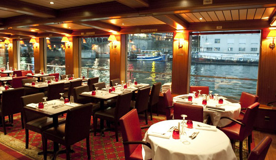 Diner croisiere Amiral 3 formules