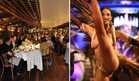 Cena crucero + Espectaculo del Lido de Paris